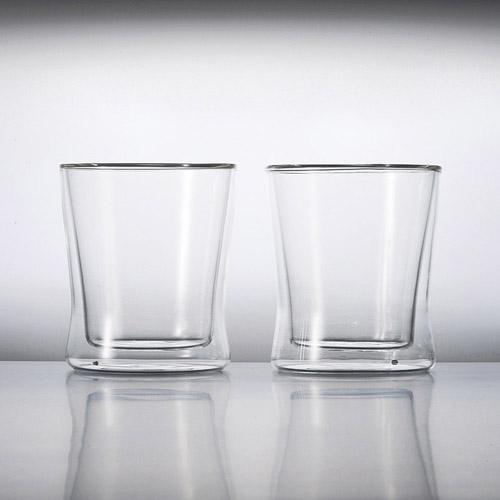 耐熱二重ガラス フリーグラスペアセット 雑貨 ホビー インテリア 雑貨 雑貨品