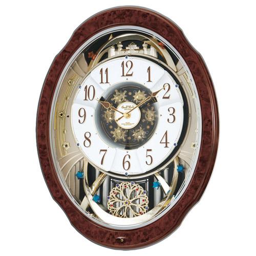 電波からくり時計 雑貨 ホビー インテリア インテリア 時計【送料無料】