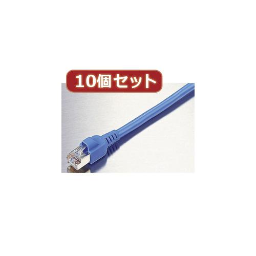 【10個セット】 エレコム EU RoHS指令準拠 簡易包装STPケーブル LD-CTS3/RSX10 LD-CTS3/RSX10 パソコン エレコム