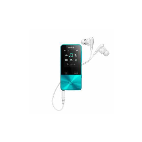 ソニー NW-S315-L ウォークマン Sシリーズ[メモリータイプ] 16GB ブルー(代引不可)【送料無料】