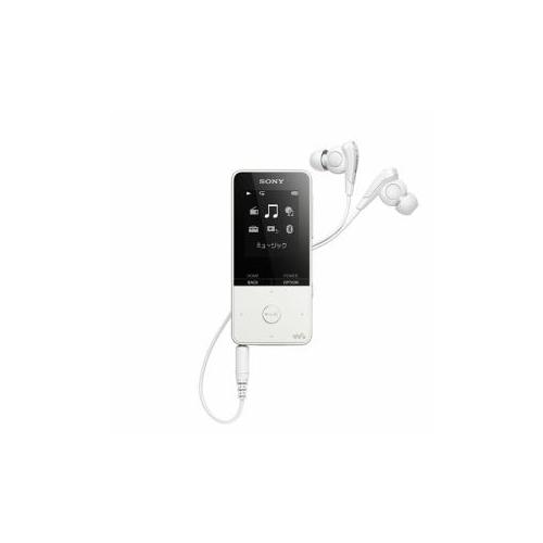 ソニー NW-S315-W ウォークマン Sシリーズ[メモリータイプ] 16GB ホワイト(代引不可)【送料無料】