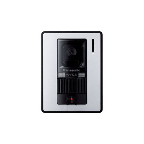 Panasonic カメラ玄関子機 VL-V522L-WS(代引不可)【送料無料】