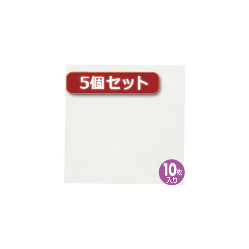 【5個セット】研磨紙0.5ミクロン(10枚) HKB-AC5-10X5 HKB-AC5-10X5 パソコン(代引不可)【送料無料】