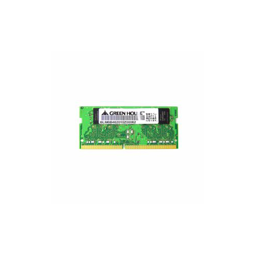 グリーンハウス PC4-19200(DDR4 2400MHz)対応ノートパソコン用メモリー 8GB GH-DNF2400-8GB(代引不可)【送料無料】