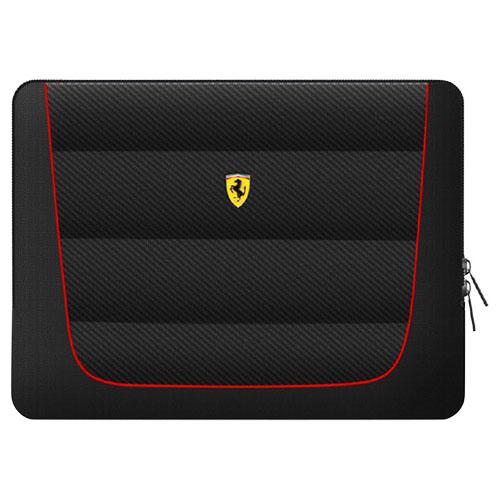 Ferrari 公式ライセンス品 13インチノートパソコン用バッグ ブラック FECS13BK(代引不可)【送料無料】
