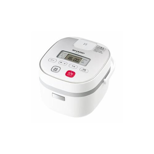SHARP KS-C5L-W ジャー炊飯器 (3合炊き) ホワイト系(代引不可)