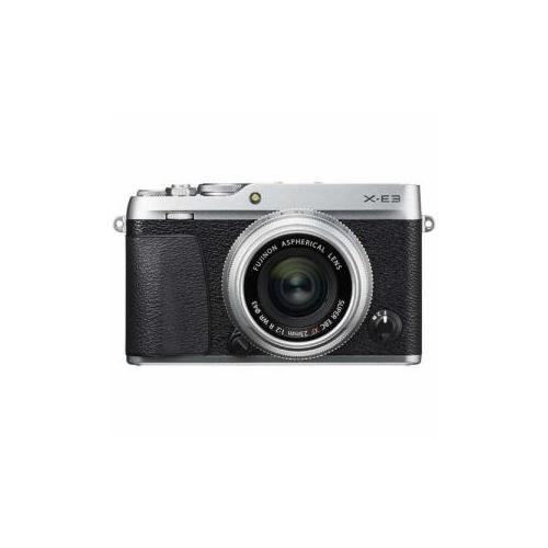 富士フイルム ミラーレス一眼カメラ 「FUJIFILm X-E3」 XF23mmF2レンズキット シルバー F-X-E3LK23F2-S(代引不可)【送料無料】