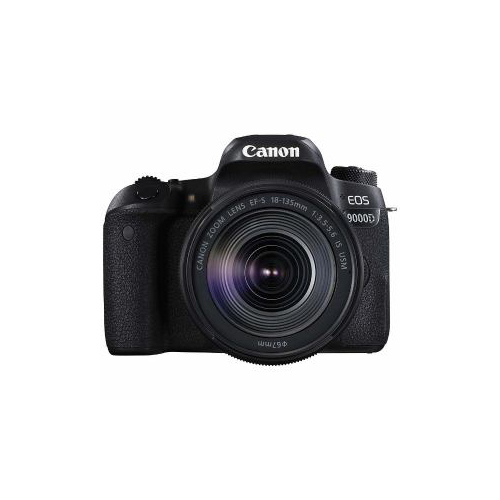 CANON デジタル一眼カメラ「EOS 9000D」EF-S18-135 IS USm レンズキット EOS9000D-EF-S18-135(代引不可)【送料無料】