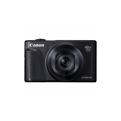 CANON コンパクトデジタルカメラ PowerShot(パワーショット) SX740 HS(ブラック) PSSX740HSBK(代引不可)【送料無料】