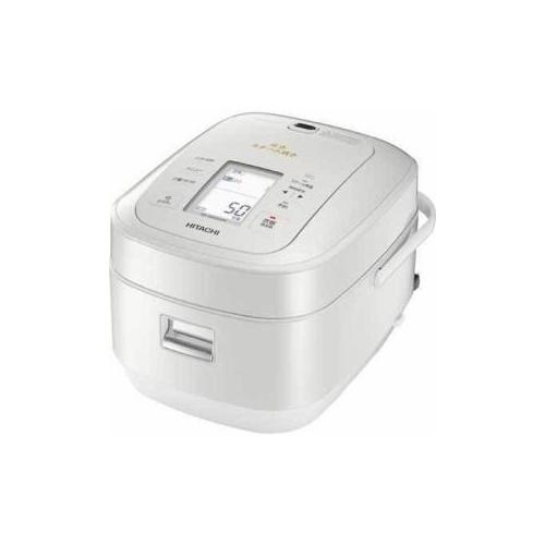 日立 圧力スチームIH炊飯器「ふっくら御膳」(5.5合炊き) パールホワイト RZ-AW3000m-W(代引不可)【送料無料】