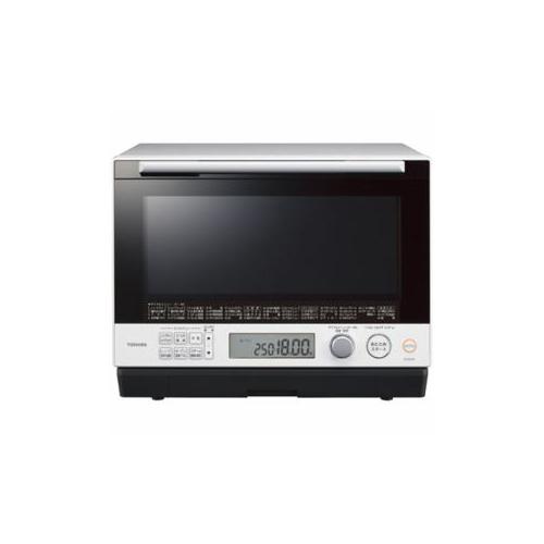 TOSHIBA 過熱水蒸気オーブンレンジ 「石窯ドーム」 30L グランホワイト ER-SD100-W(代引不可)【送料無料】