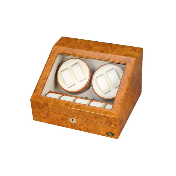 ローテンシュラガー 木製4連ワインディングマシーン LU30004RW(代引不可)【送料無料】
