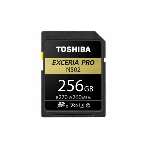 TOSHIBA SDHC/SDXCメモリカード 「EXCERIA PRO」 256GB SDXU-D256G カメラ フラッシュメモリー SDメモリーカード MMC TOSHIBA(代引不可)【送料無料】