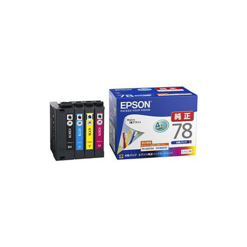 EPSON 純正 インクカートリッジ (4色パック) IC4CL78 パソコン パソコン周辺機器 インク EPSON(代引不可)【送料無料】