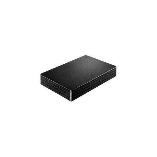 IOデータ 外付け HDD カクうす Lite ブラック ポータブル型 2TB HDPH-UT2DKR(代引不可)