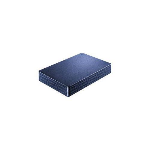 IOデータ 外付け HDD カクうす Lite ミレニアム群青 ポータブル型 2TB HDPH-UT2DNVR(代引不可)