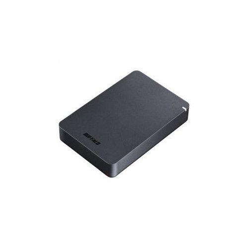 BUFFALO バッファロー 外付け HDD ブラック ポータブル 4TB HD-PGF4.0U3-GBKA(代引不可)