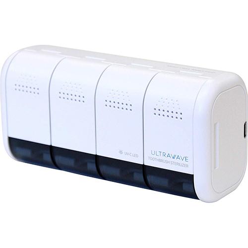 MEDIK メディク 99.9%の除菌ができる 壁掛け用充電式歯ブラシ除菌ホルダー ホワイト MDK-TS04WH(代引不可)