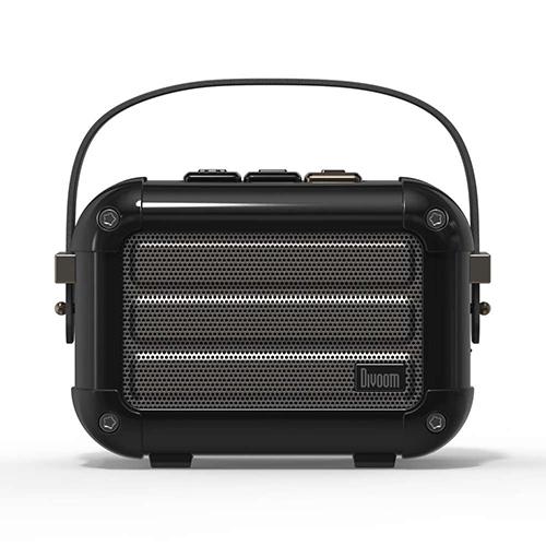 Divoom ディブーム 手のひらサイズの本格派Bluetoothスピーカー Macchiato-BLACK MACCHIATO_BLACK(代引不可)
