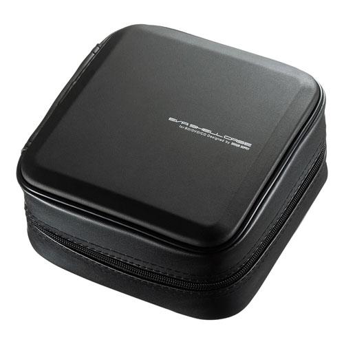 サンワサプライ ブルーレイディスク対応セミハードケース(60枚収納・ブラック) FCD-WLBD60BK(代引不可)【S1】