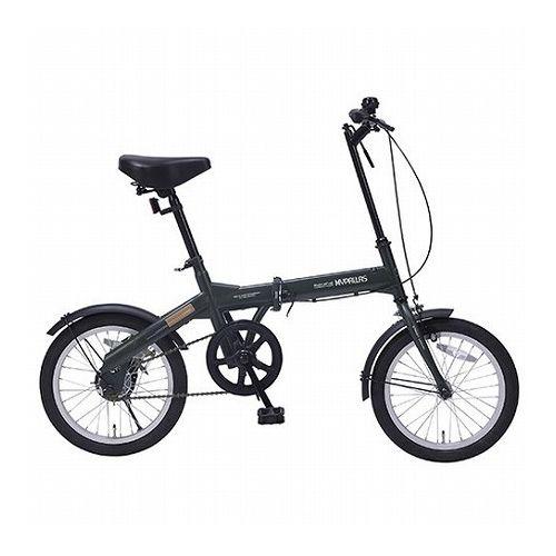 MYPALLAS マイパラス 折畳自転車16インチ グリーン M-100-GR(代引不可)