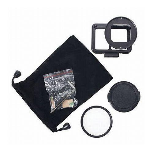 エツミ GoPro HERO7対応 アクションメタルプロテクターカバー ブラック VE-2221(代引不可)