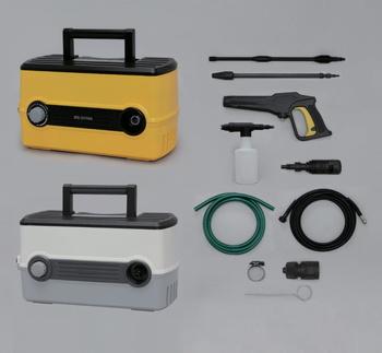 アイリスオーヤマ 高圧洗浄機 FBN-604 高圧洗浄機 イエロー(代引き不可)