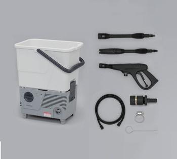 アイリスオーヤマ タンク式高圧洗浄機 SBT-412 高圧洗浄機 ホワイト/グレ-(代引き不可)