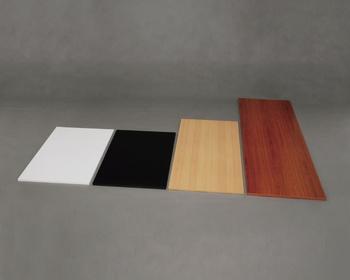 アイリスオーヤマ カラー化粧棚板 化粧棚板 ブラック 1800×600mm LBC-1860(代引き不可)【送料無料】