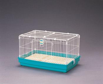 アイリスオーヤマ ラビットケージ  UK-800ワイド 小動物用品 パステルグリーンUK-800ワイド(代引き不可)【送料無料】