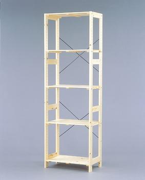 アイリスオーヤマ ウッディラック 木製ラック クリア WOR-5318(代引き不可)【送料無料】