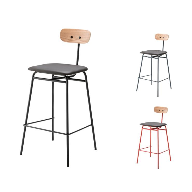 ハイチェア カウンターチェア ハイチェア 背付きチェア 肘なしチェア ハイタイプ チェア 椅子 飲食店 家庭用 おしゃれ(代引不可)【送料無料】【S1】