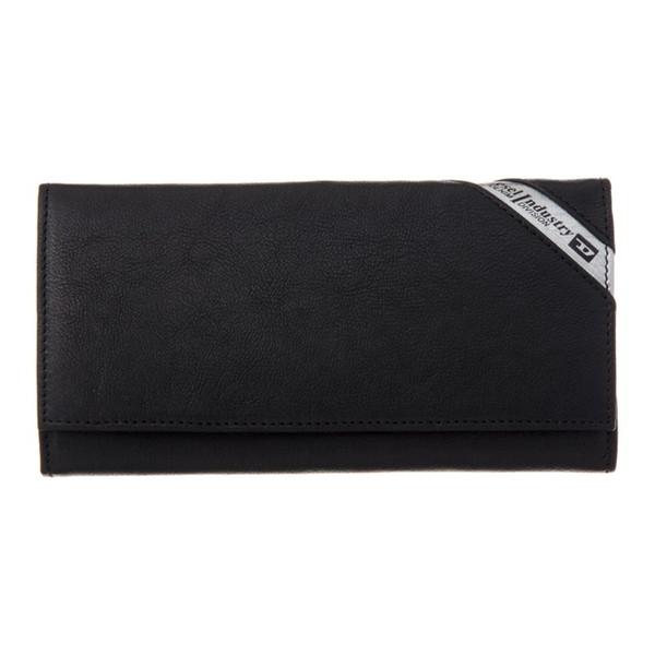 DIESEL ディーゼル X03608 P1221 H6168 Black/Dark Acciaio 長財布【送料無料】
