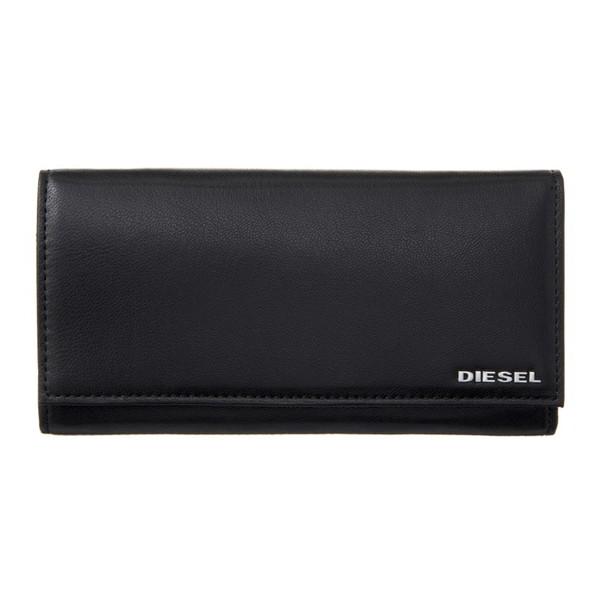 DIESEL ディーゼル X04457 PR227 H6586 Black-Orange Pepper 長財布(代引不可)【送料無料】