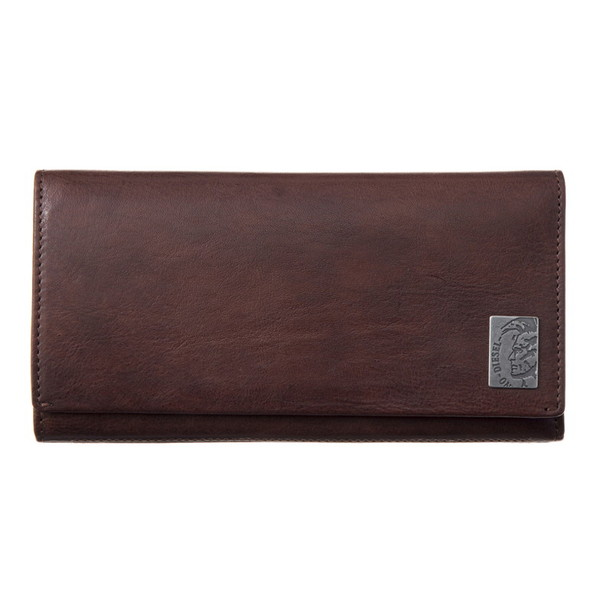 DIESEL ディーゼル X04984 PR013 T2189 Seal Brown 長財布【送料無料】