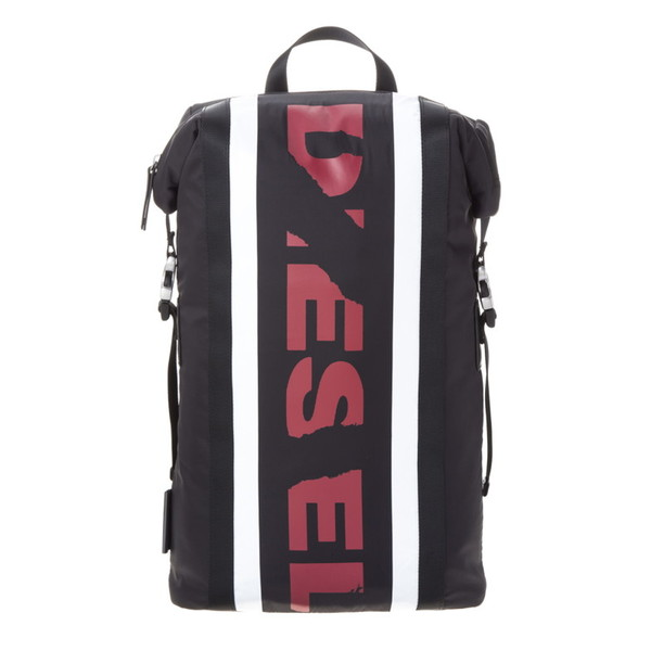 DIESEL ディーゼル X05316 P1620 H3212 Black/Tango Red/White バックパック【送料無料】