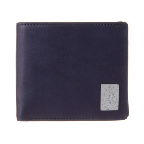 ディーゼル DIESEL【X04996PR013T6065】NAVY 二つ折り財布【送料無料】