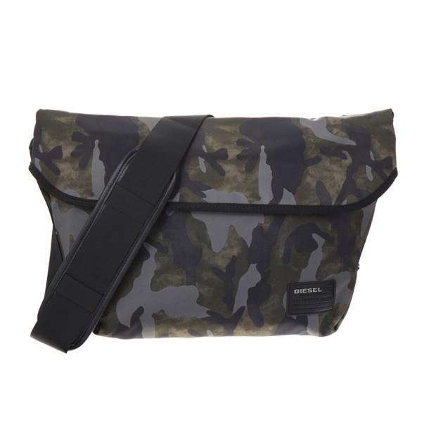 ディーゼル DIESEL【X04326PR027H5254】Military Camou ショルダーバッグ【送料無料】