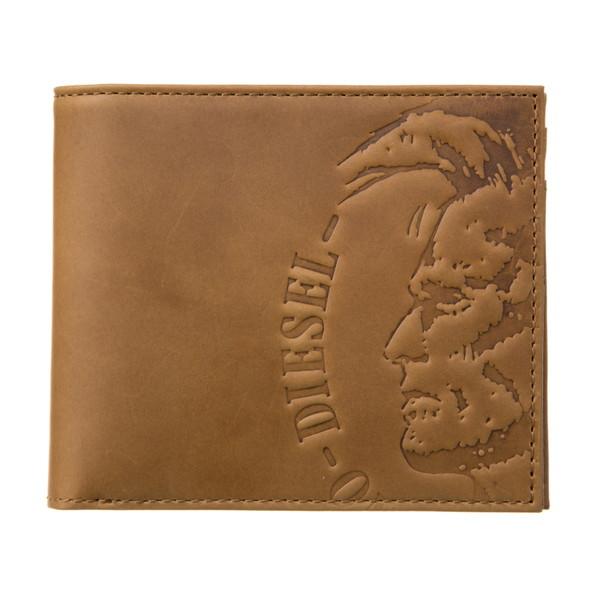 ディーゼル DIESEL【X04763PR160T2278】Golden Brown 二つ折り財布【送料無料】