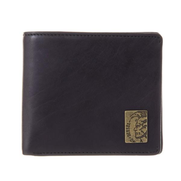 ディーゼル DIESEL【X04996PR013T8013】Black 二つ折り財布【送料無料】
