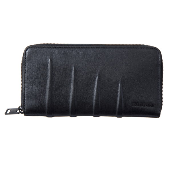 ディーゼル DIESEL【X04999PR160T8013】Black ラウンドファスナー長財布【送料無料】