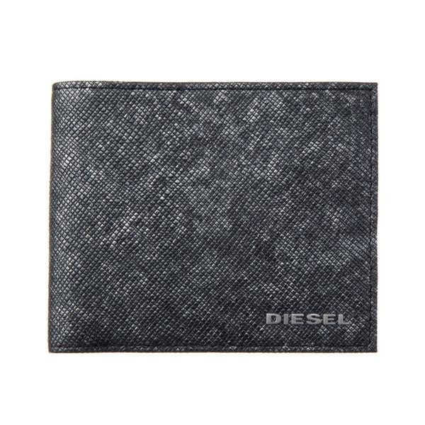 ディーゼル DIESEL【X05264P0517H1572】DarkGray 二つ折財布【送料無料】
