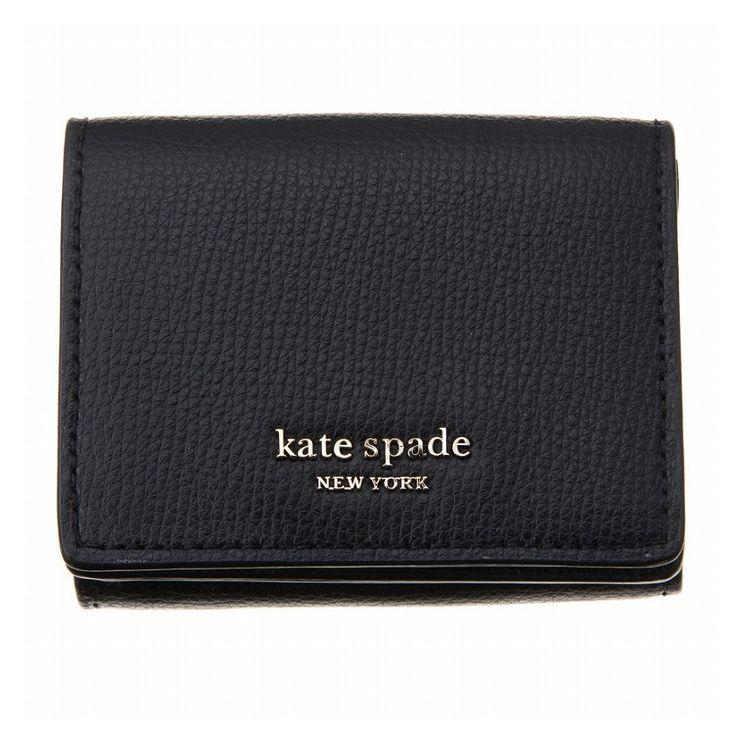 KATE SPADE ケイトスペード 二つ折り財布 PWRU7395-001 プレゼント レディース おしゃれ かわいい ブランド 財布 折りたたみ【送料無料】【S1】