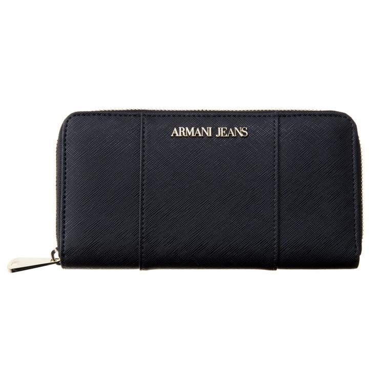 ARMANI JEANS アルマーニ ジーンズ 928588 CD857 00020 ラウンドファスナー長財布 ブランド【送料無料】