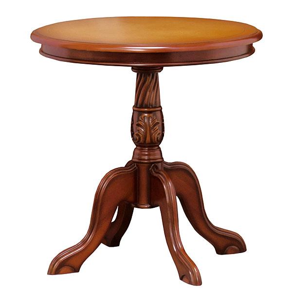 コモ サイドテーブル ホワイト 木製 テーブル ホワイト ブラウン (代引き不可)【送料無料】