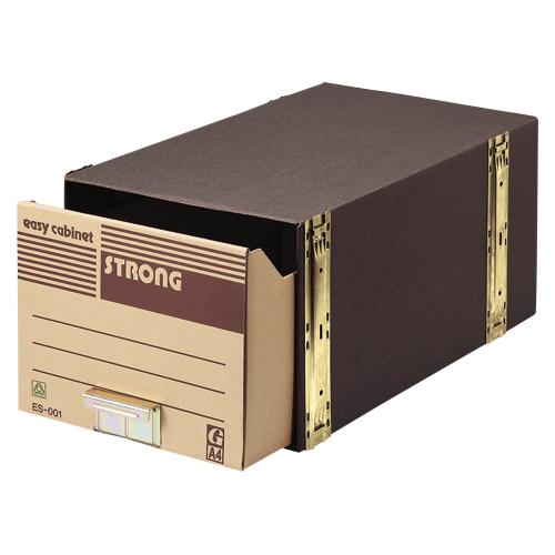 ゼネラルサプライ イージーキャビネットストロング A4判用 5個入 1 梱 ES-001 文房具 オフィス 用品