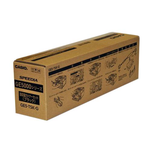 カシオ プリンター用回収協力トナー ブラック 1 本 GE5-TSK-G 文房具 オフィス 用品