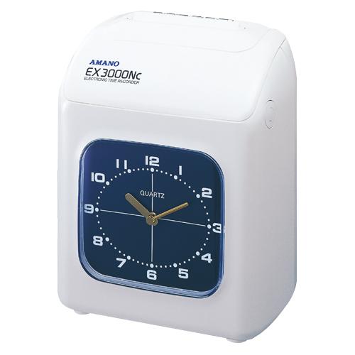 アマノ タイムレコーダーホワイト 1 台 EX-3000NCW 文房具 オフィス 用品
