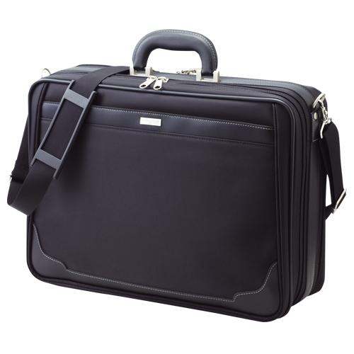 クラウン ソフトアタッシュケース 黒 1 個 CR-AT200-B 文房具 オフィス 用品