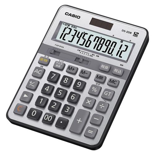 カシオ 実務電卓 デスクサイズ 12桁 1台